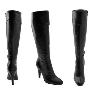Enzo Angiolini Eapave Leather Boots sz 8.5